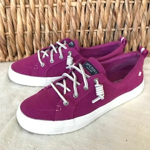 Sperry Crest Vibe Washed Linen Women`s sneakers